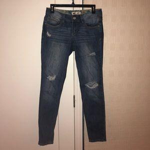 Cute ripped skinny jeans